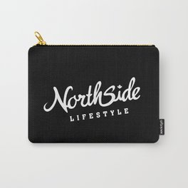 North Side Lifestyle Signature (white) Carry-All Pouch