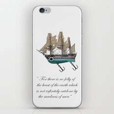 To catch a sea monster iPhone & iPod Skin