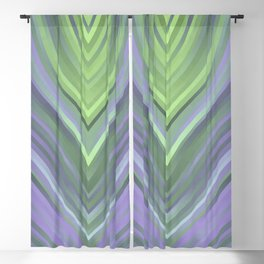 stripes wave pattern 3 cl Blackout Curtain