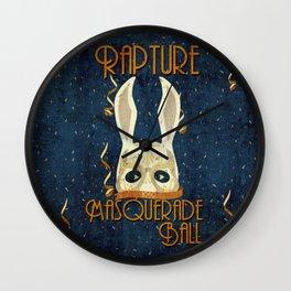 Rapture Masquerade Ball 1959 Wall Clock