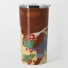 Strawberry Picker Travel Mug