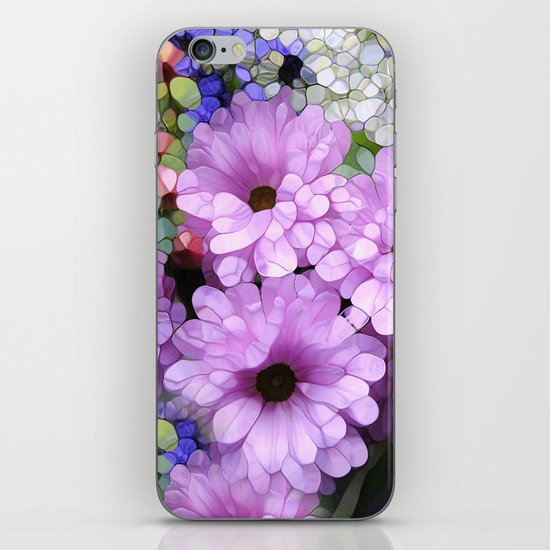 Daisies from the Galaxy iPhone & iPod Skin