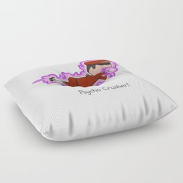 Psycho Crusher Floor Pillow
