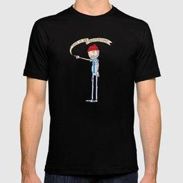 """""""THIS IS AN ADVENTURE."""" - Zissou T-shirt"""