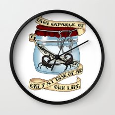 Father of the atom bomb Wall Clock