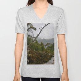 Eucalypt forest Unisex V-Neck