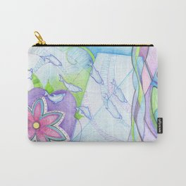space dolphins Carry-All Pouch