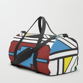 Ndebele Print Duffle Bag
