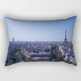 Morning in Paris Rectangular Pillow
