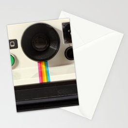 Retro 80's objects - Instant Camera Stationery Cards