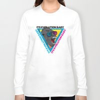 evolution Long Sleeve T-shirts featuring Evolution by Full Imaginario
