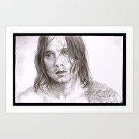 bucky barnes Art Prints featuring Bucky by Kastubbins