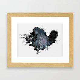 Dirty Smoke Framed Art Print