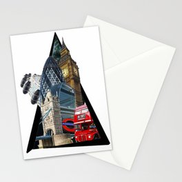 London UK Symbol ArtWork Cities Stationery Cards