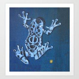 Frog Glyph Art Print