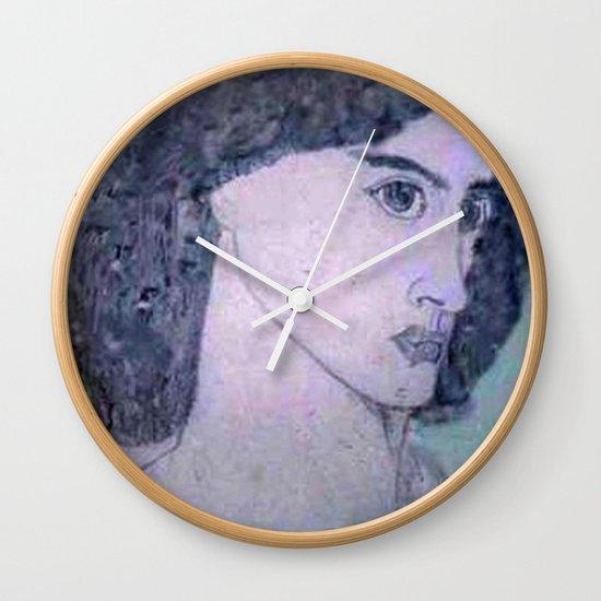 JANE BURDEN STUDY Wall Clock