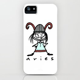 aries in the house(s)! iPhone Case