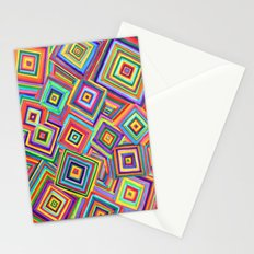 infinite square Stationery Cards