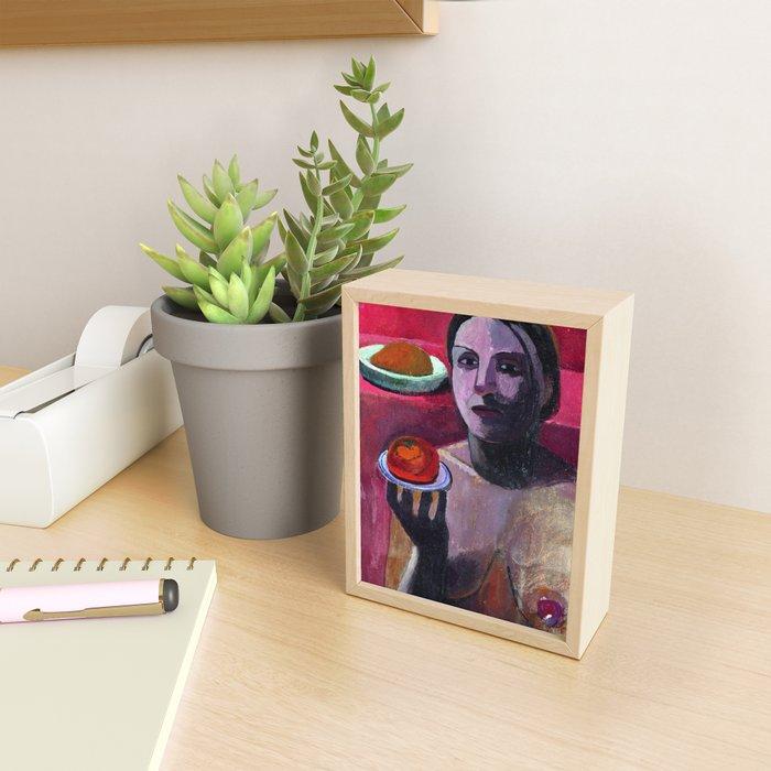 Paula Modersohn Becker Self Portrait Framed Mini Art Print