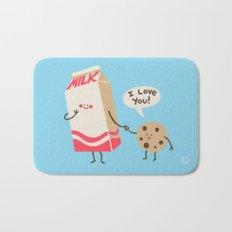 Cookie Loves Milk Bath Mat