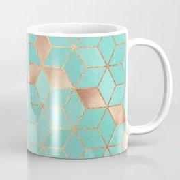 Soft Gradient Aquamarine Coffee Mug