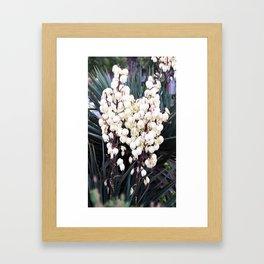La cloche| floral photography Framed Art Print