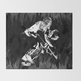 Ice Hockey Goalie Throw Blanket