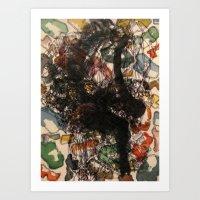 Pieces Of Movement Art Print