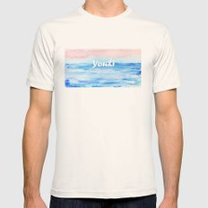 You&i Natural SMALL Mens Fitted Tee
