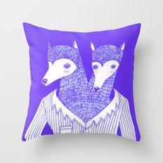 DECIDE Throw Pillow