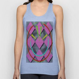 colored abstraction Unisex Tank Top