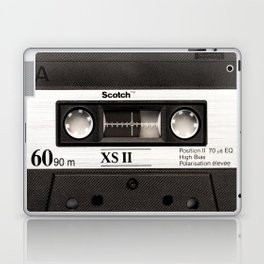 Cassette Tape Black And White #decor #homedecor #society6 Laptop & iPad Skin