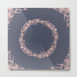 Dawn of Flowers, Rose. Metal Print