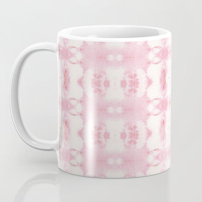 Tie Dye Roses Coffee Mug