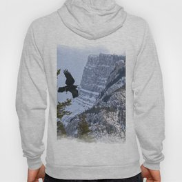 Mt Rundle & Raven (Canadian Rockies) Hoody