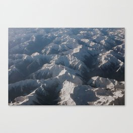 Mountains From Above Canvas Print