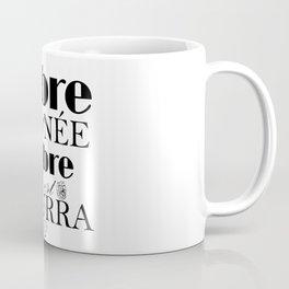 Libre elle est NÉE - Carmen Coffee Mug
