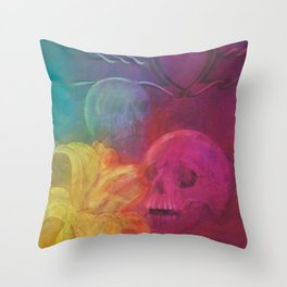 The laughter Throw Pillow