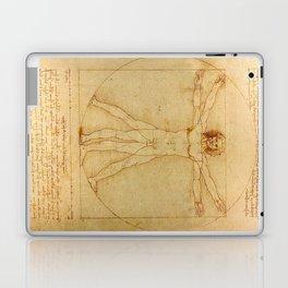 Leonardo da Vinci - Vitruvian Man Laptop & iPad Skin