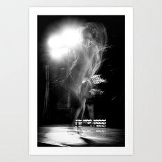 tango ballet dancer Art Print