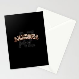 Arizona Vintage Retro Collegiate Stationery Cards