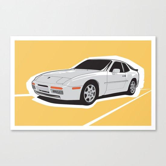 Turbo Driver Canvas Print