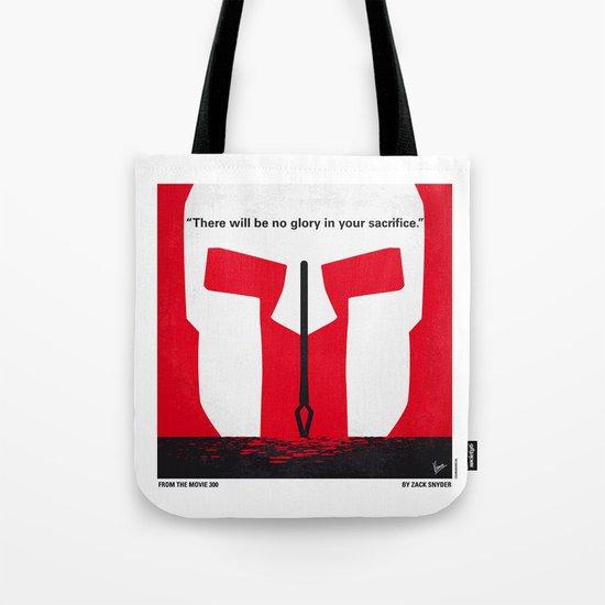 No001 My 300 minimal movie poster Tote Bag