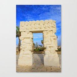 Gate of Faith Canvas Print