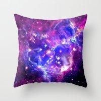 galaxy Throw Pillows featuring Galaxy. by Matt Borchert
