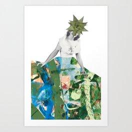 Succulent Sally Art Print