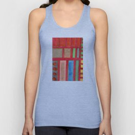 Some Chosen Rectangles ordered on Red Unisex Tank Top