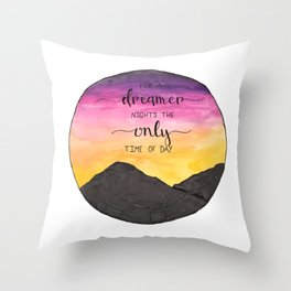 In Santa Fe Throw Pillow