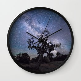 Astronomer's Tree Wall Clock