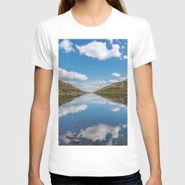 Blue Lake of Snowdonia T-shirt